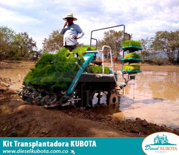 Sembradora de arroz Kubota