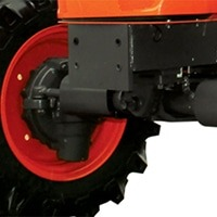 Característica del tractor Kubota MU4501