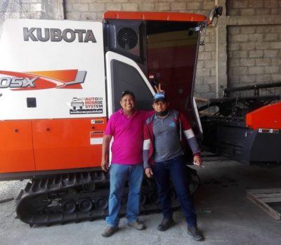 Entrega cosechadora KUBOTA DC105X 🗺Espinal (Tolima)